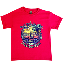 Youth Jeep Tee