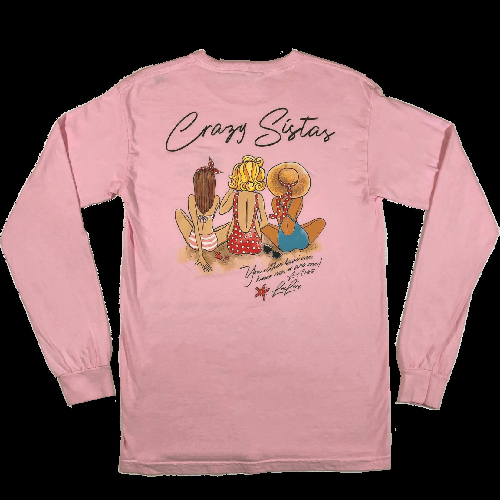 Crazy Sista 3 Crazy Sistas Long Sleeve