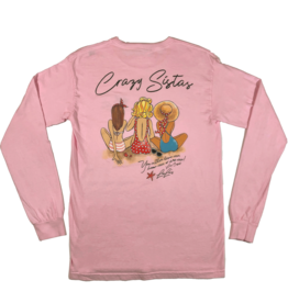 Crazy Sista 3 Crazy Sistas Long Sleeve