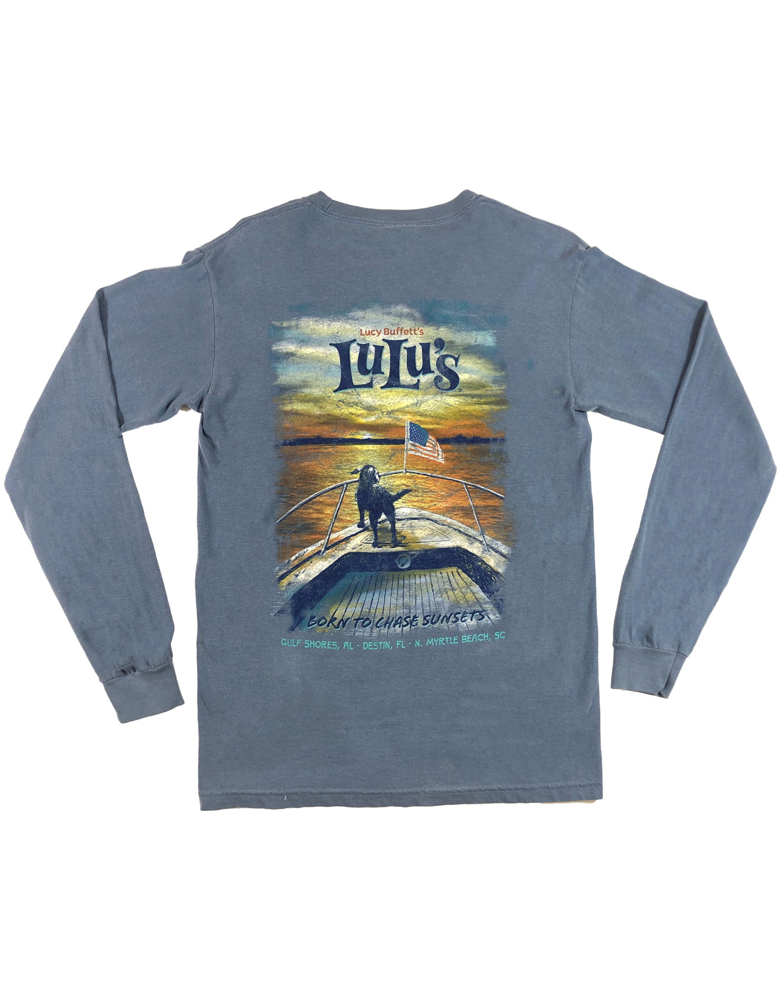 Chase Sunsets Pocket Long Sleeve