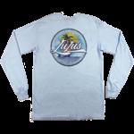 LuLu's Brand Apparel High Tides Circle Long Sleeve