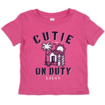 Infant Cutie On Duty Tee