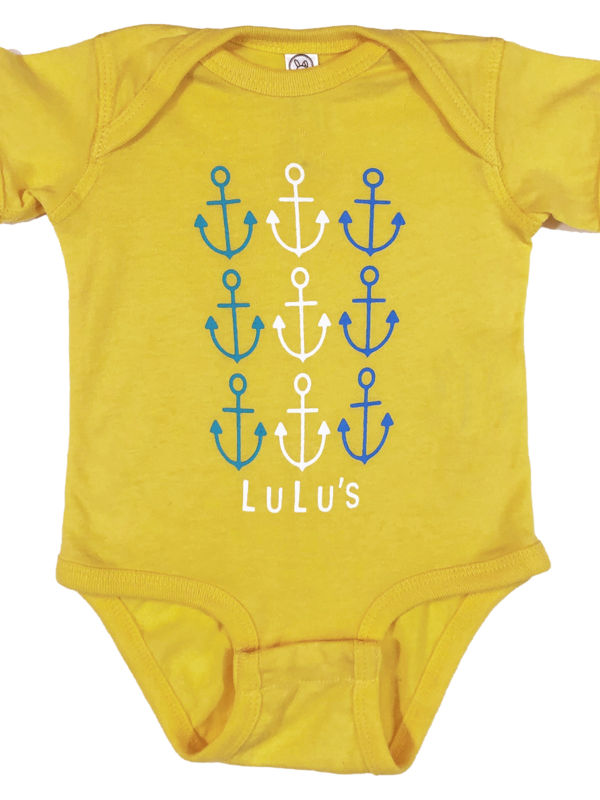 Infant Stacked Anchor Onesie