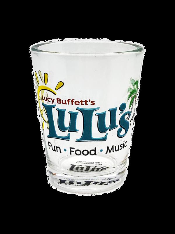 LuLu's Logo Shot Glass