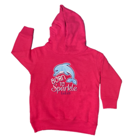 Toddler Born to Sparkle Hoodie