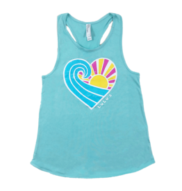 Youth Wave Heart Tank