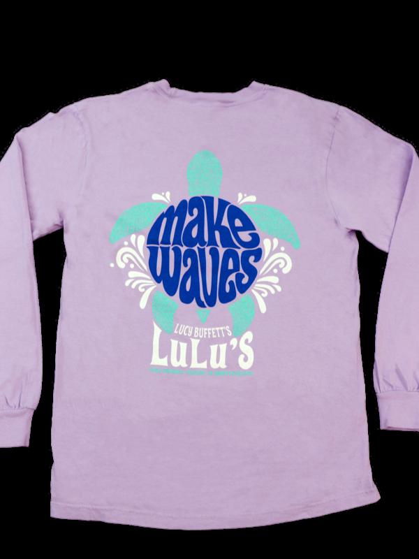 Make Waves Turtle Long Sleeve
