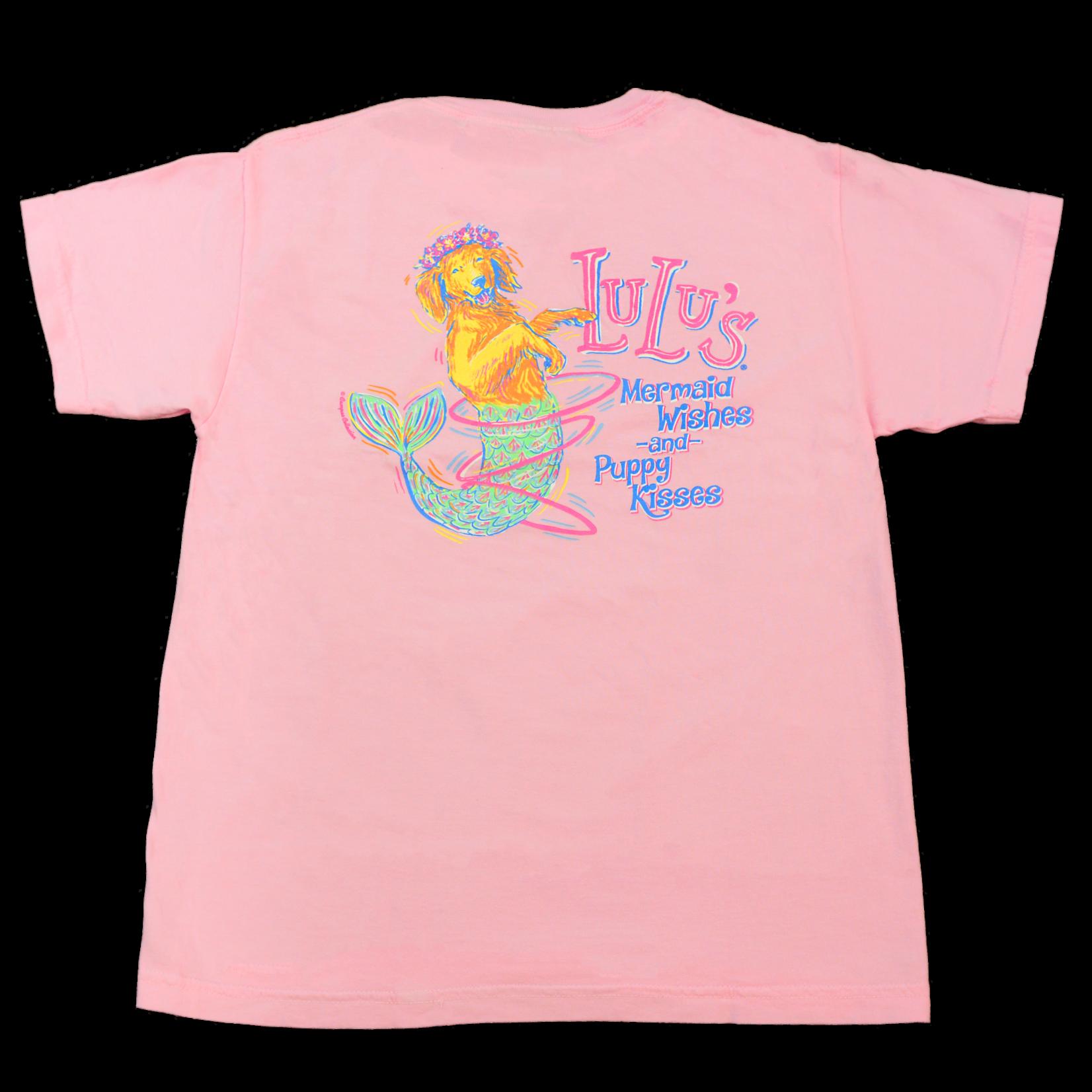Youth Mermaid Pup Tee