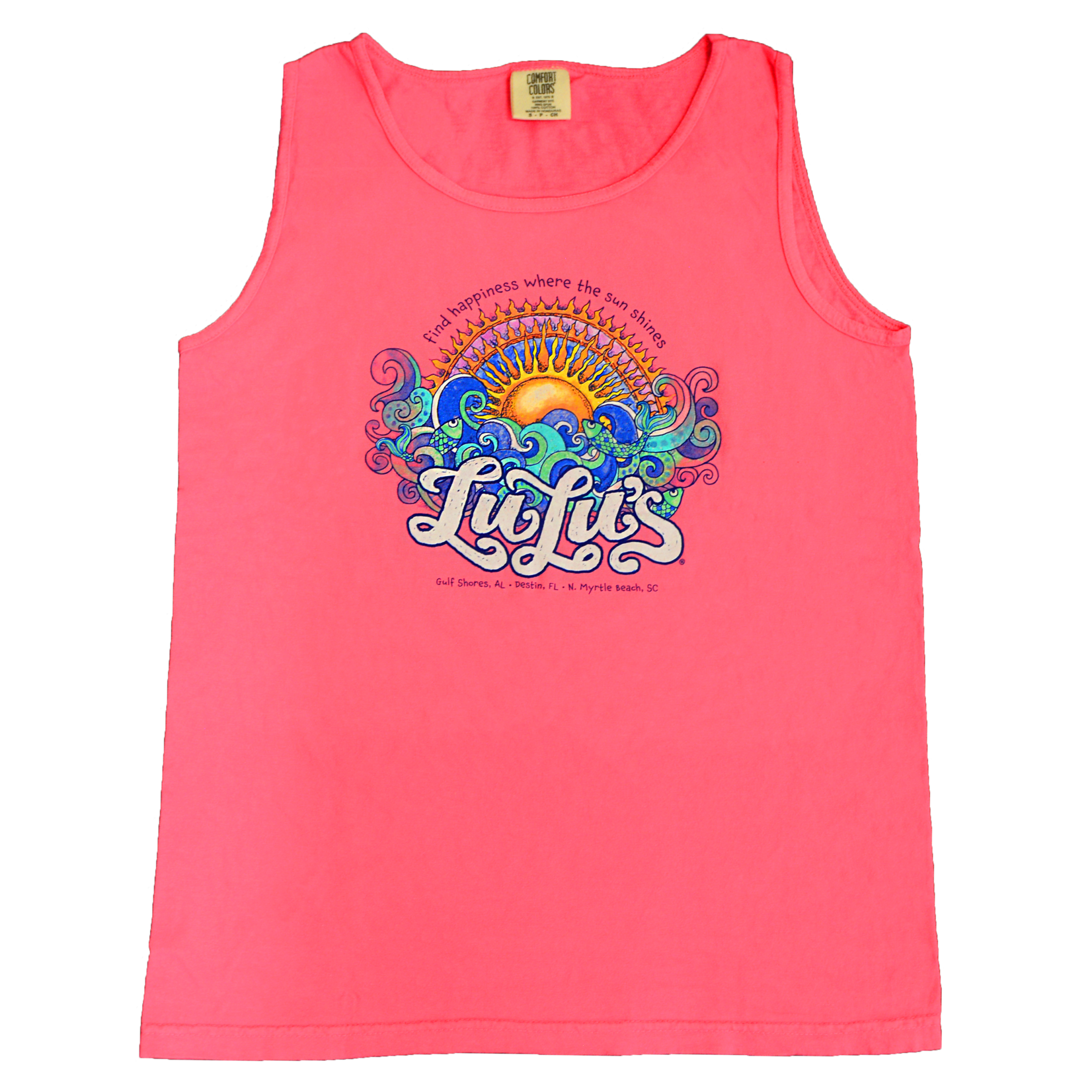 LuLu's Brand Apparel Sunshine Happiness Tank