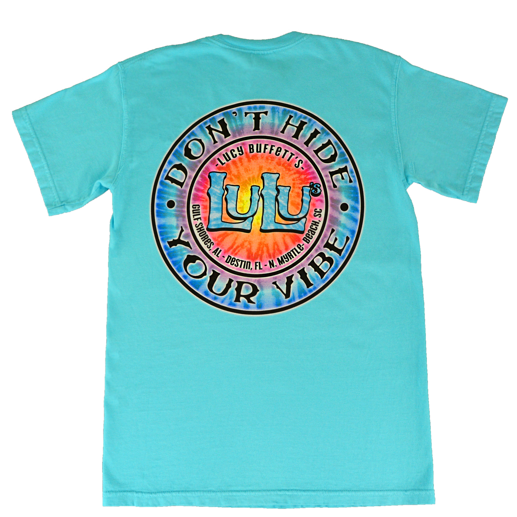 LuLu's Brand Apparel Don't Hide Your Vibe Tee