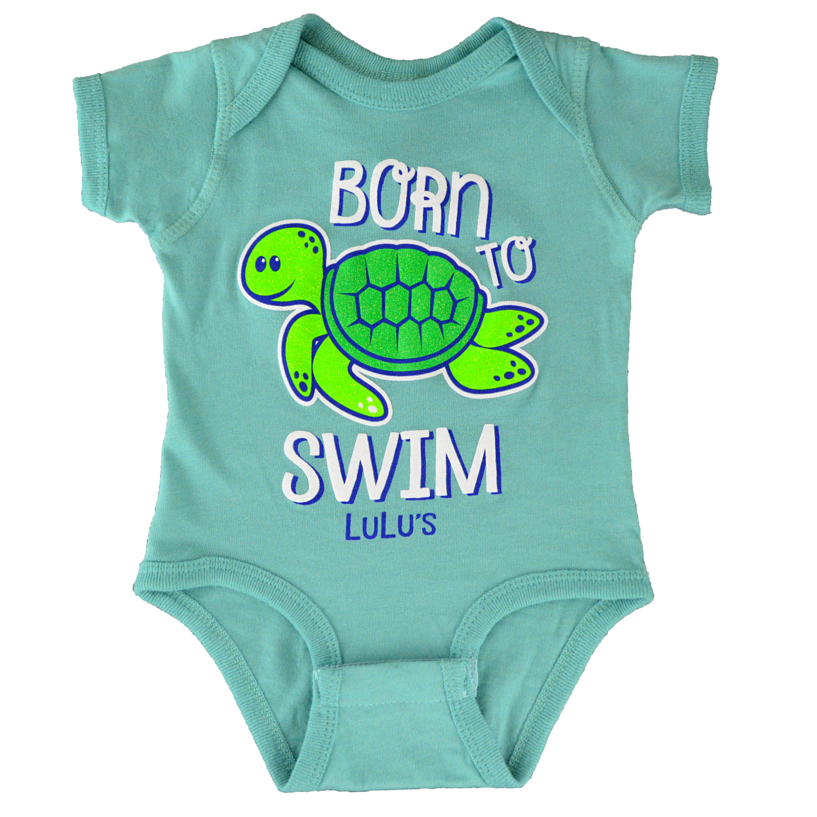 Infant Born to Swim Onesie