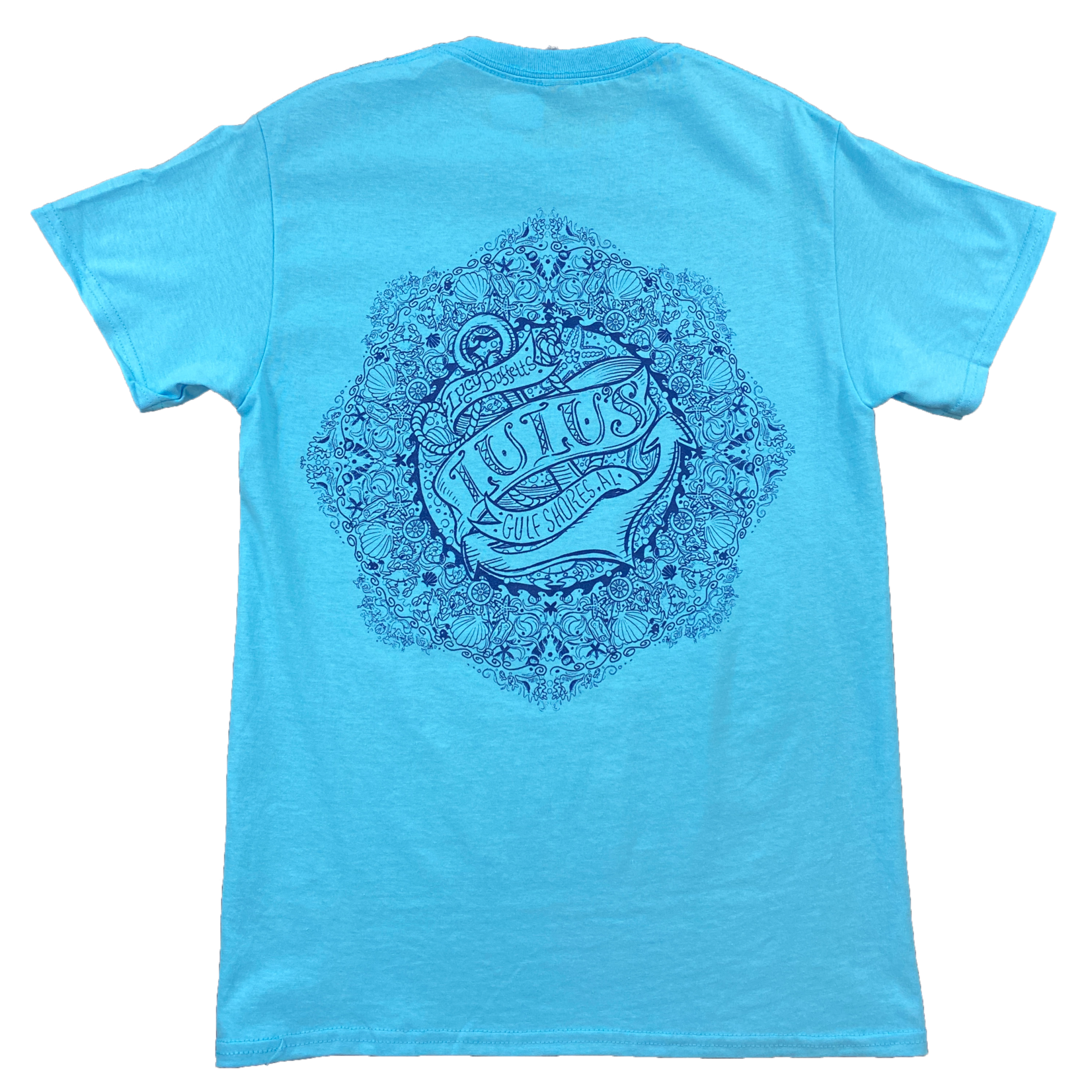 LuLu's Brand Apparel Anchor Circle Tee
