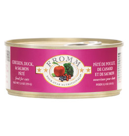 Fromm Fromm  Chicken Duck & Salmon Pate 5.5oz
