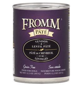 Fromm Fromm Venison & Lentil Pate 12oz