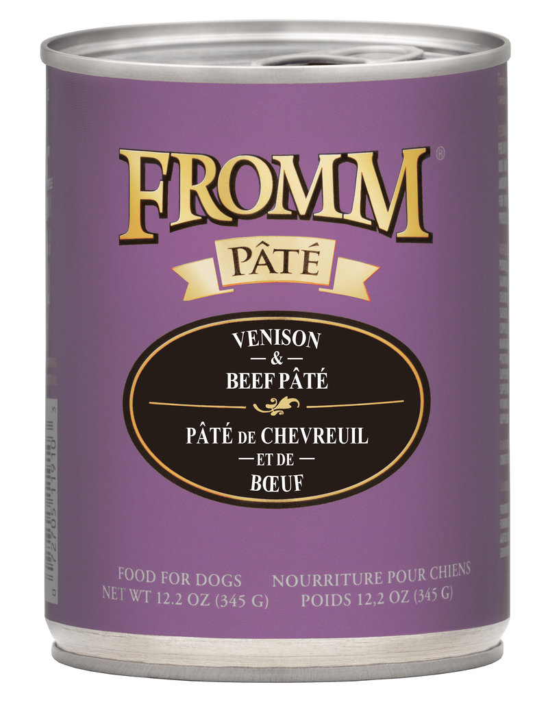 Fromm Fromm Venison & Beef Pate 12oz
