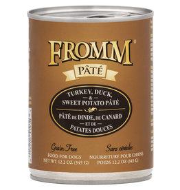 Fromm Fromm Turkey Duck & Sweet Potato Pate 12oz