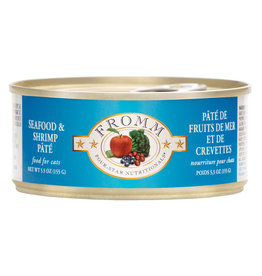 Fromm Fromm Seafood & Shrimp Pate Cat 5.5oz