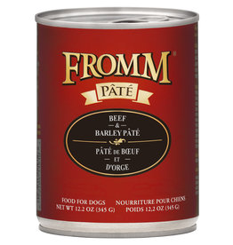 Fromm Fromm Beef & Barley Pate 12oz
