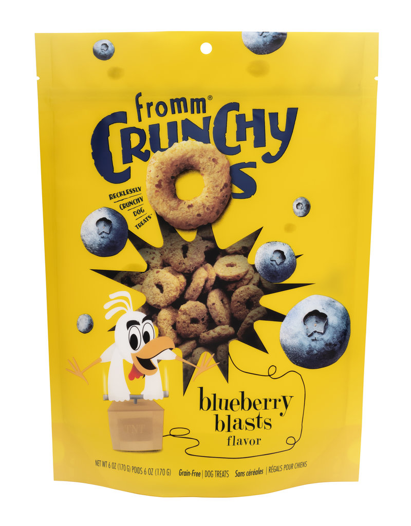 Fromm Fromm Crunchy O's Blueberry Blasts 6oz