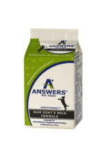 Answers Answers Raw Goat's Milk