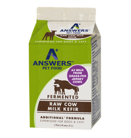 Answers Answers Raw Cow's Milk Kefir