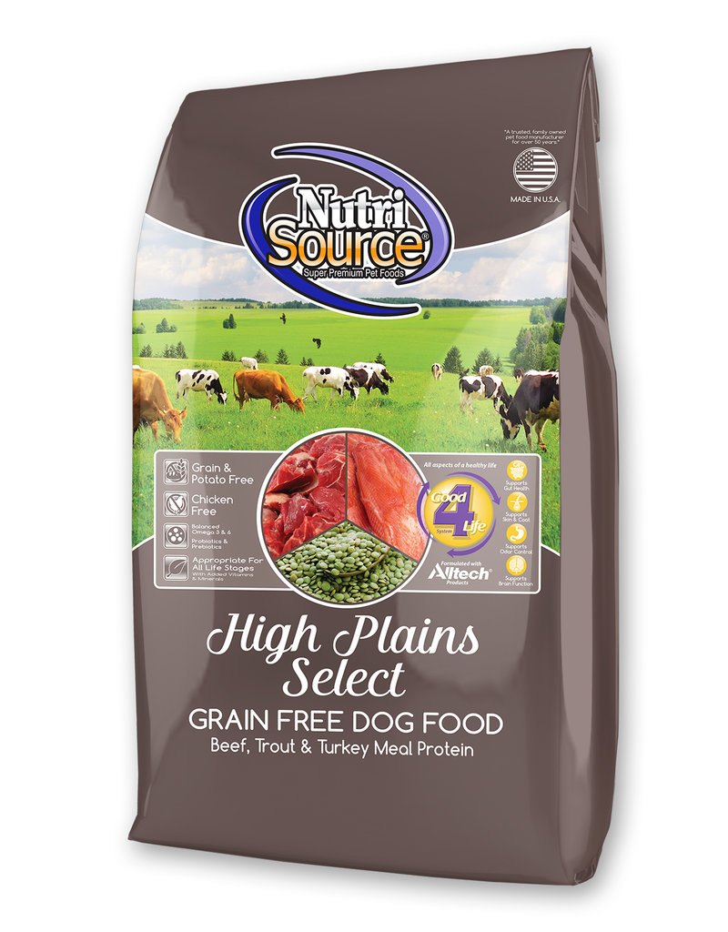 Nutrisource Nutrisource Grain Free High Plains Select