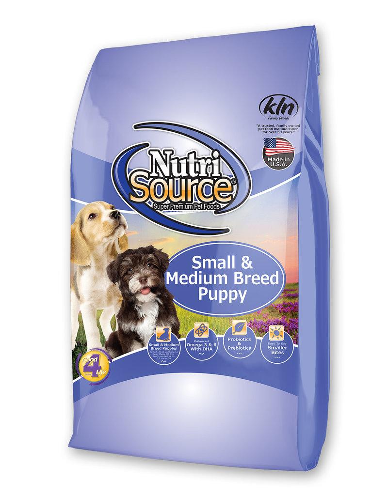 Nutrisource Nutrisource Chicken & Rice Sm/Med Puppy