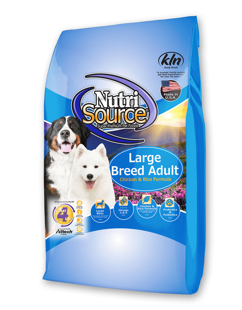 Nutrisource Nutrisource Large Breed Adult Chicken & Rice