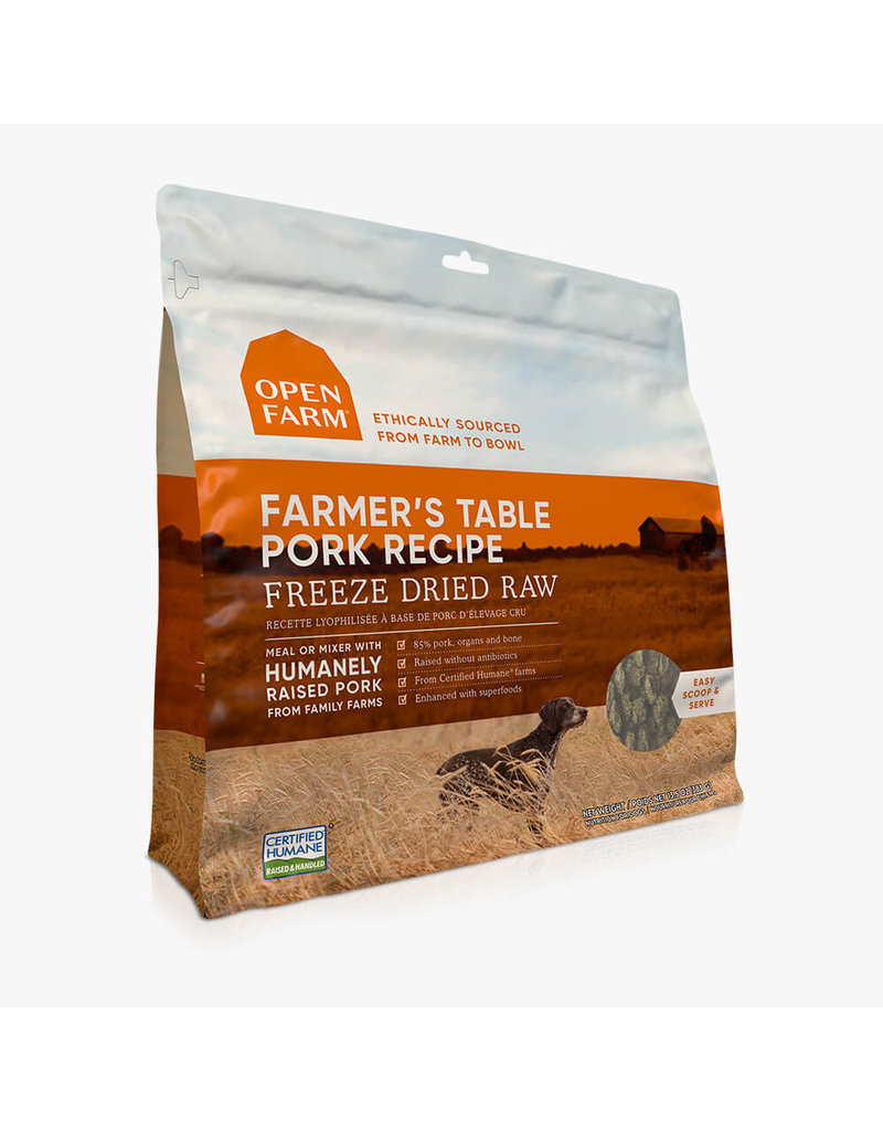 Open Farm Open Farm Freeze Dried Pork 13.5oz