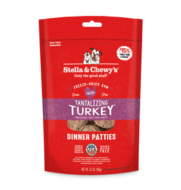 Stella & Chewys Stella & Chewy's Freeze Dried Turkey Patties