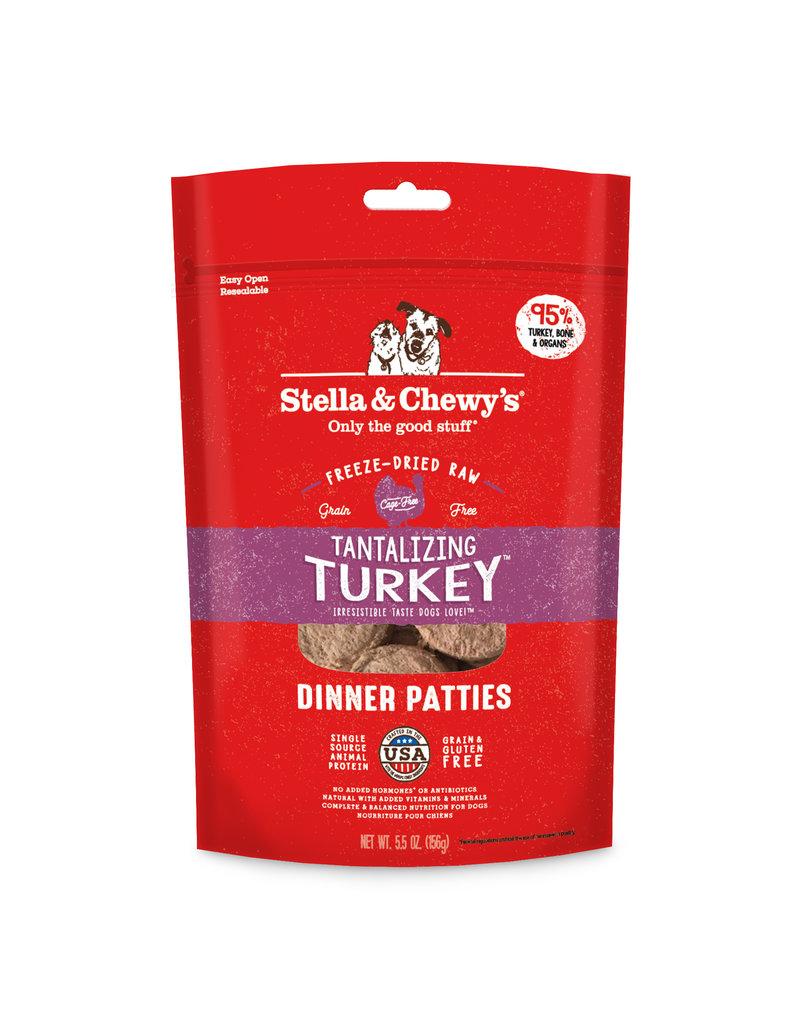 Stella & Chewys Stella & Chewy's Freeze Dried Turkey Patties