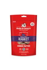 Stella & Chewys Stella & Chewy's Freeze Dried Rabbit Patties