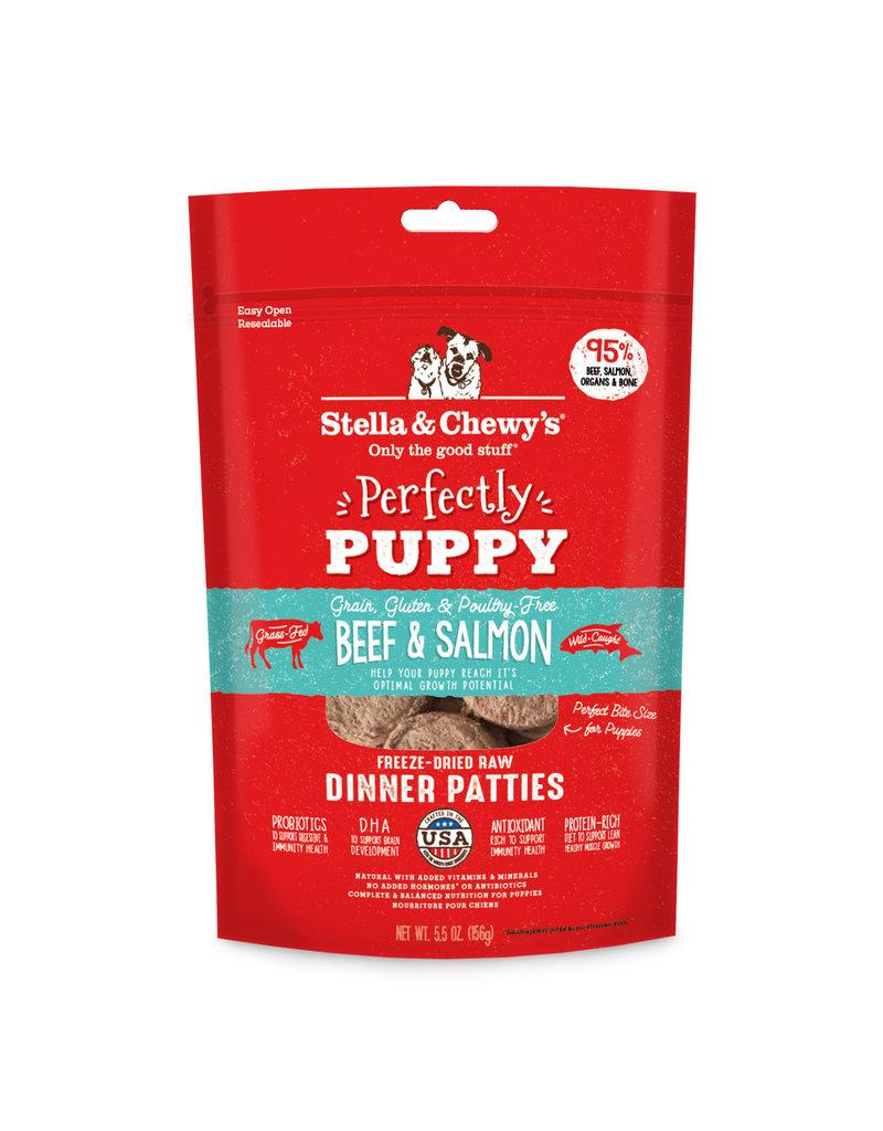 Stella & Chewys Stella & Chewy's Freeze Dried Beef & Salmon Puppy Patties