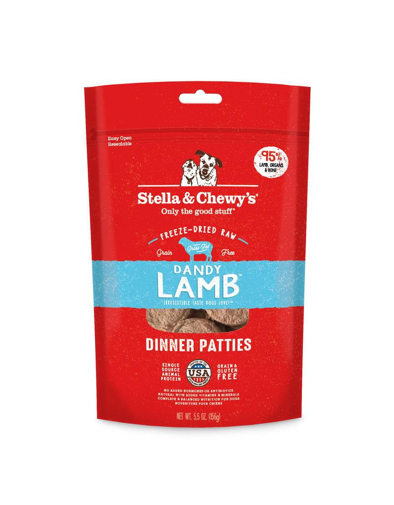 Stella & Chewys Stella & Chewy's Freeze Dried Lamb Patties