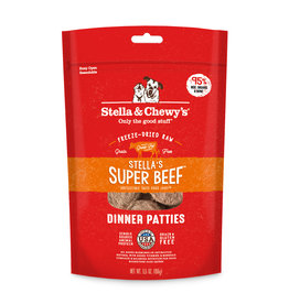 Stella & Chewys Stella & Chewy's Freeze Dried Beef Patties