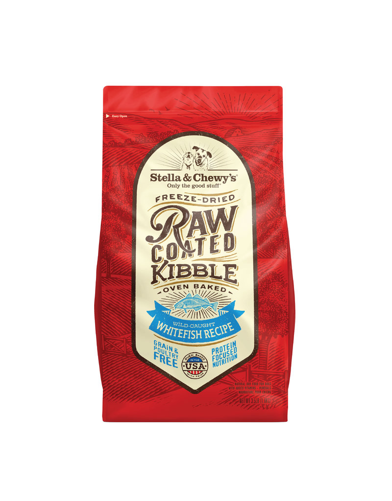 Stella & Chewys Stella & Chewy's Raw Coated Whitefish Kibble