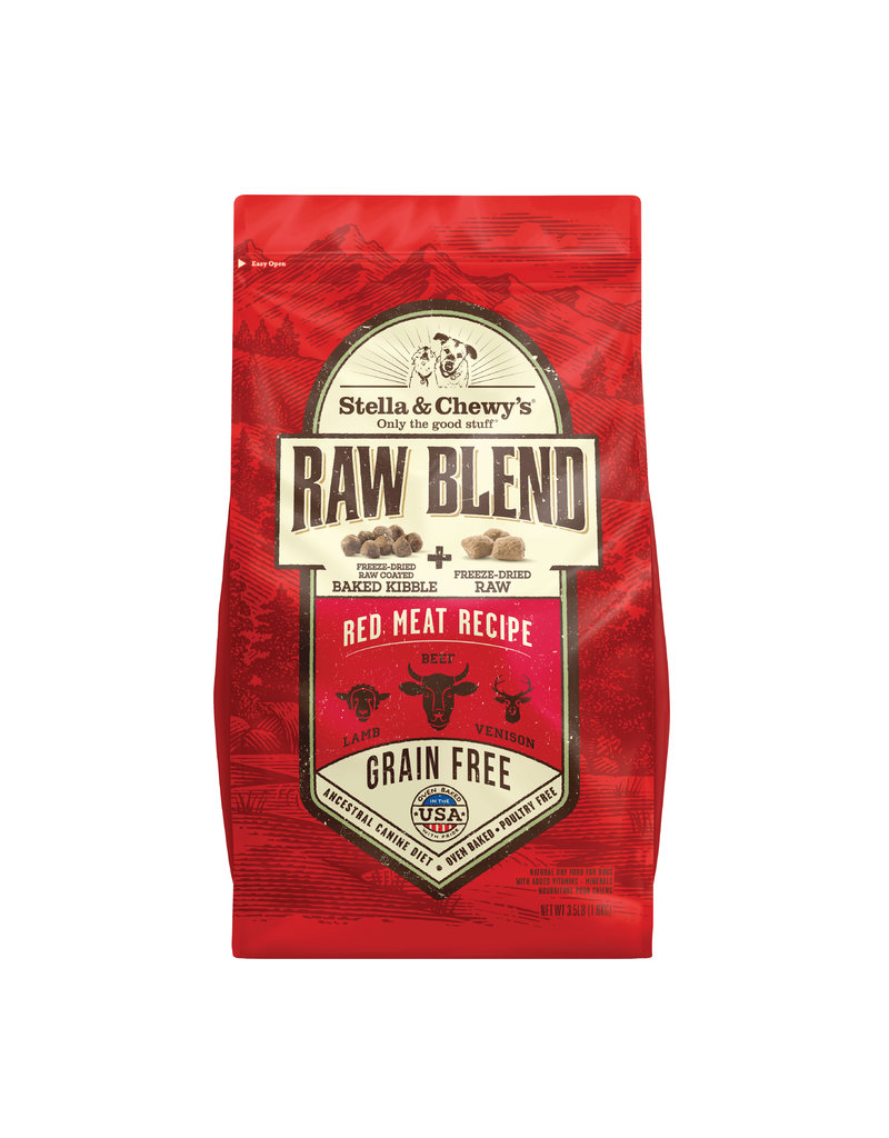 Stella & Chewys Stell a& Chewy's Raw Blend Red Meat Kibble