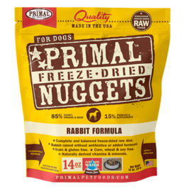 Primal Primal Freeze Dried Nuggets Rabbit