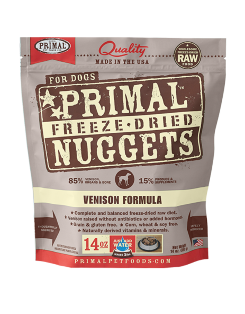 Primal Primal Freeze Dried Nuggets Vension