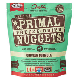 Primal Primal Freeze Dried Nuggets Chicken