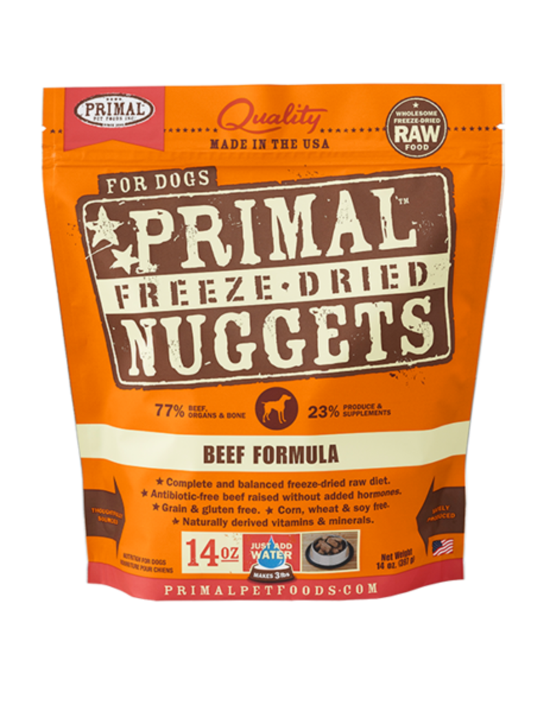Primal Primal Freeze Dried Nuggets Beef