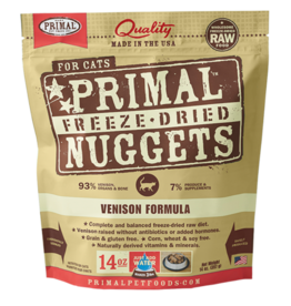 Primal Primal Freeze Dried Nuggets Venison