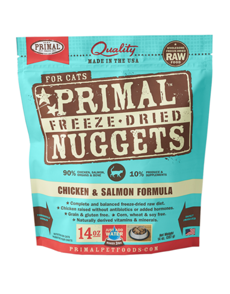 Primal Primal Freeze Dried Nuggets Chicken & Salmon