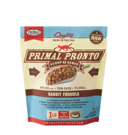Primal Primal Pronto Cat Frozen Raw Rabbit