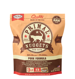 Primal Primal Frozen Raw Pork Nuggets Cat