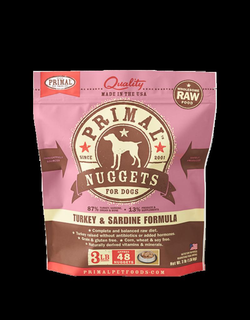 Primal Primal Frozen Raw Canine Turkey Sardine