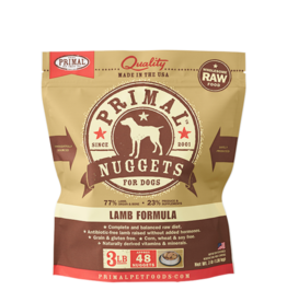 Primal Primal Frozen Raw Canine Lamb
