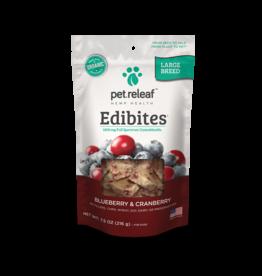 Pet Releaf Pet Releaf Edibites Blueberry & Cranberry Large Breed