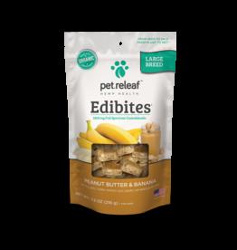 Pet Releaf Pet Releaf Edibites Peanut Butter & Banana Large Breed