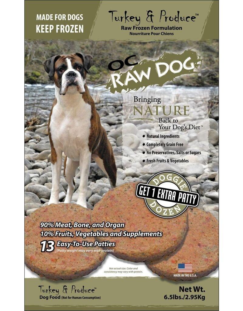 OC Raw OC Raw Turkey & Produce Patties 6.5lbs
